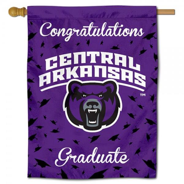 Central Arkansas Bears Graduation Banner