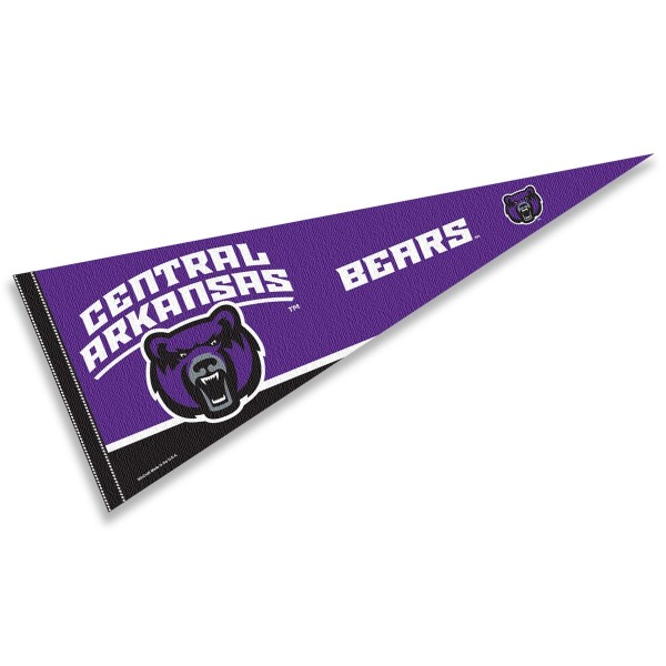Central Arkansas UCA Bears Pennant