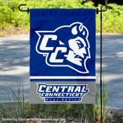 Central Connecticut State University Blue Devils Garden Flag