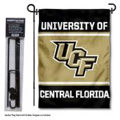 Central Florida Knights Garden Flag and Holder