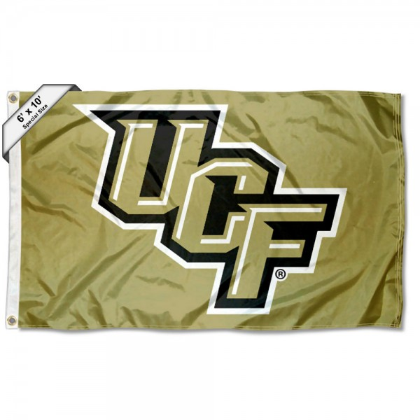 Central Florida Knights Metallic Large 6x10 Flag