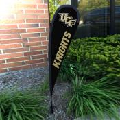 Central Florida Knights Mini Teardrop Garden Flag