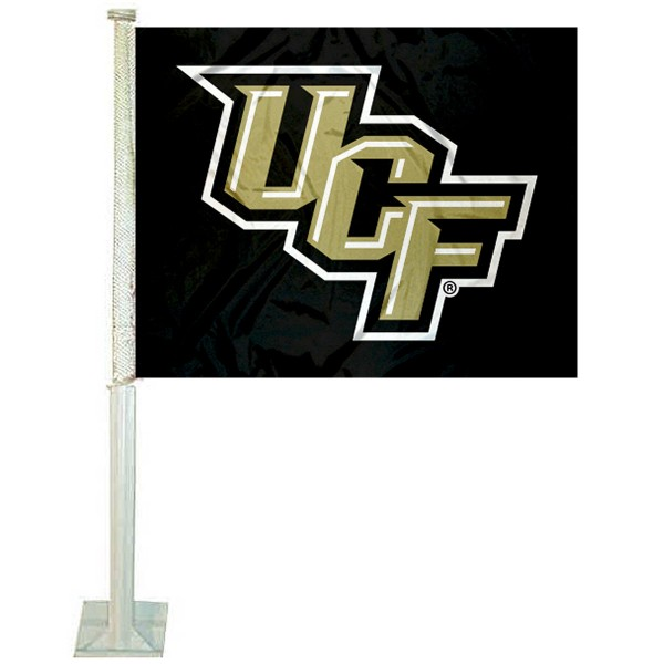 Central Florida Knights Stacked UCF Car Flag