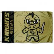 Central Florida Knights Tokyodachi Cartoon Mascot Flag