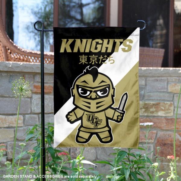 Central Florida Knights Yuru Chara Tokyo Dachi Garden Flag