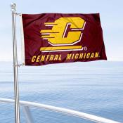 Central Michigan Chippewas Boat Flag