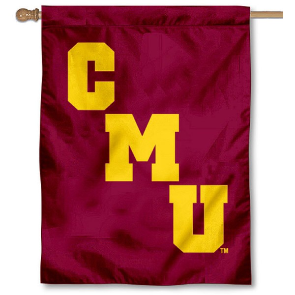 Central Michigan Chippewas CMU House Flag