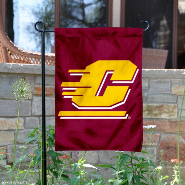 Central Michigan Chippewas Garden Flag