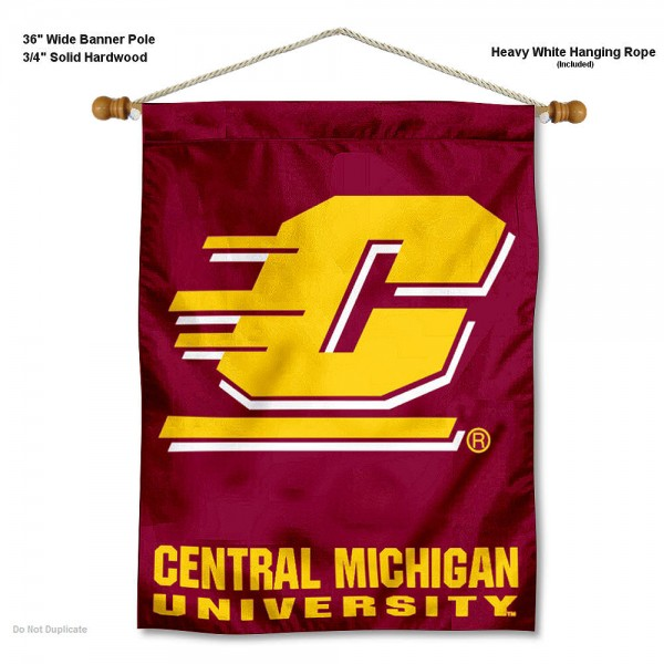 Central Michigan Chippewas Wall Hanging