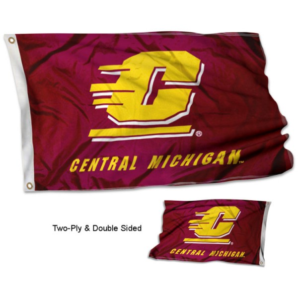Central Michigan University Flag - Stadium