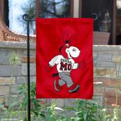 Central Missouri Mo the Mule Garden Flag