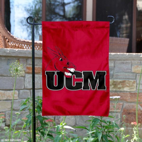 Central Missouri Mules Garden Flag
