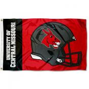 Central Missouri Mules Helmet Flag