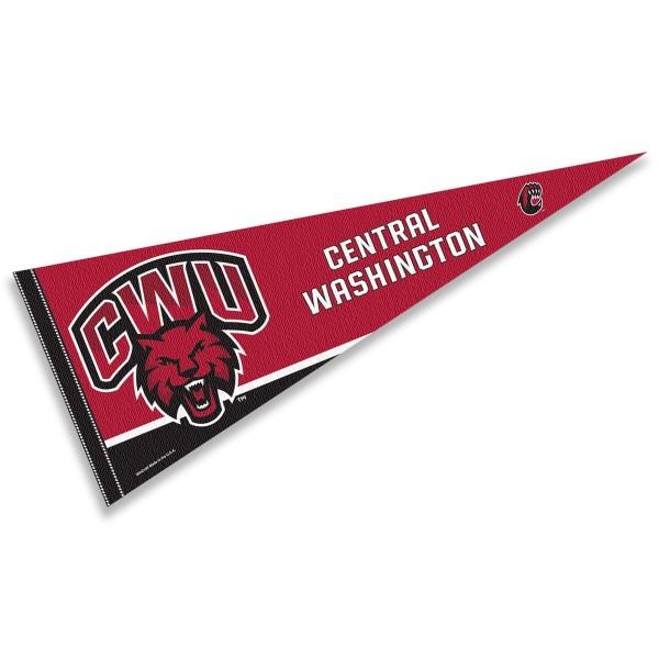 Central Washington CWW Wildcats Pennant