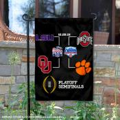 CFP Football Playoffs Game Double Sided Garden Flag