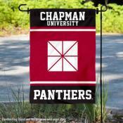 Chapman University Panthers Garden Flag