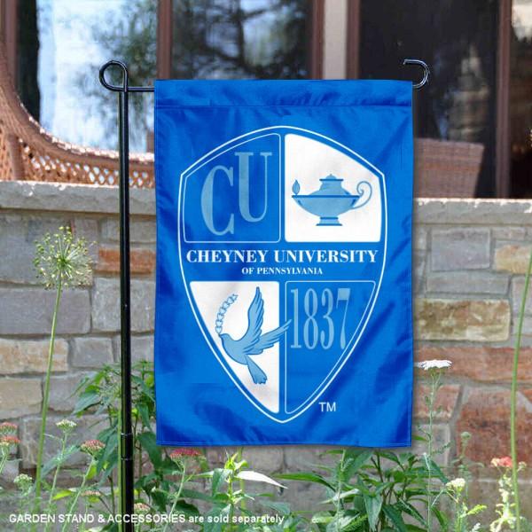 Cheyney Wolves Garden Flag