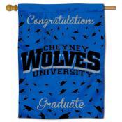 Cheyney Wolves Graduation Banner