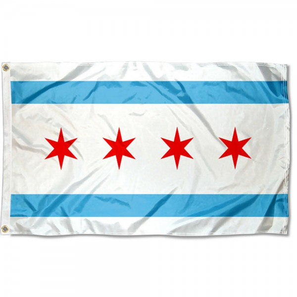 Chicago City 3x5 Foot Flag