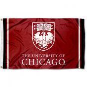 Chicago Maroons Logo 3x5 Foot Flag