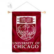 Chicago Maroons Window Hanging Banner with Suction Cup