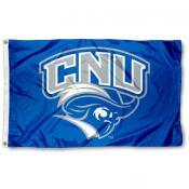 Christopher Newport Captains Logo Flag
