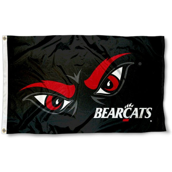 Cincinnati Bearcat Eyes Flag