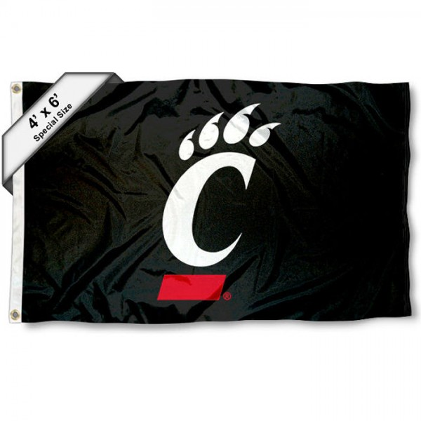 Cincinnati Bearcats 4'x6' Flag