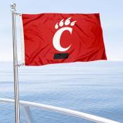 Cincinnati Bearcats Boat Flag