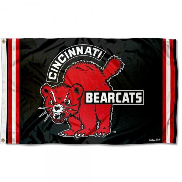 Cincinnati Bearcats Retro Vintage 3x5 Feet Banner Flag