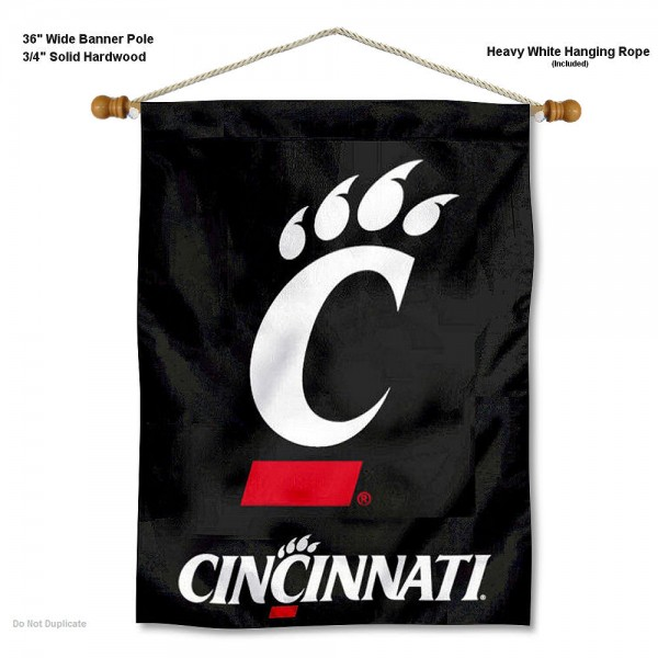 Cincinnati Bearcats Wall Hanging