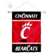 Cincinnati Bearcats Window Hanging Banner with Suction Cup