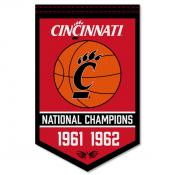 Cincinnati UC Bearcats College Basketball National Champions Banner