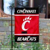 Cincinnati UC Bearcats Garden Flag