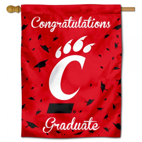 Cincinnati UC Bearcats Graduation Banner