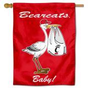 Cincinnati UC Bearcats New Baby Banner