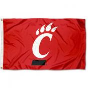 Cincinnati UC Bearcats Red Logo 3x5 Foot Flag