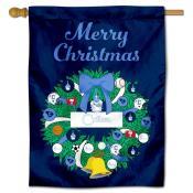 Citadel Bulldogs Christmas Holiday House Flag