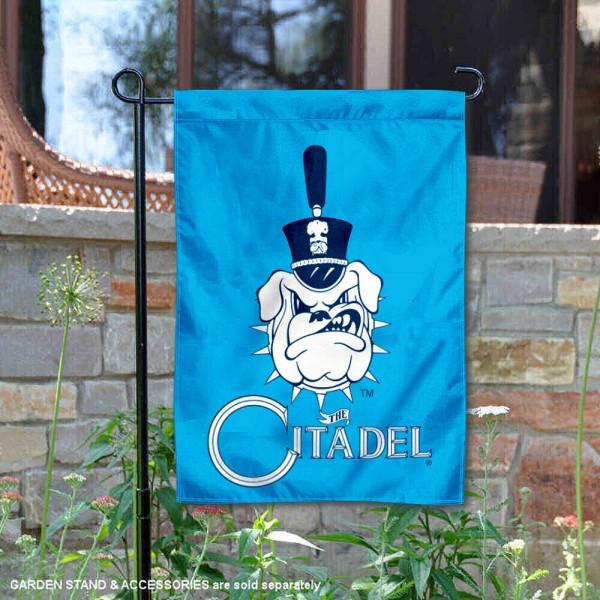 Citadel Bulldogs Garden Flag