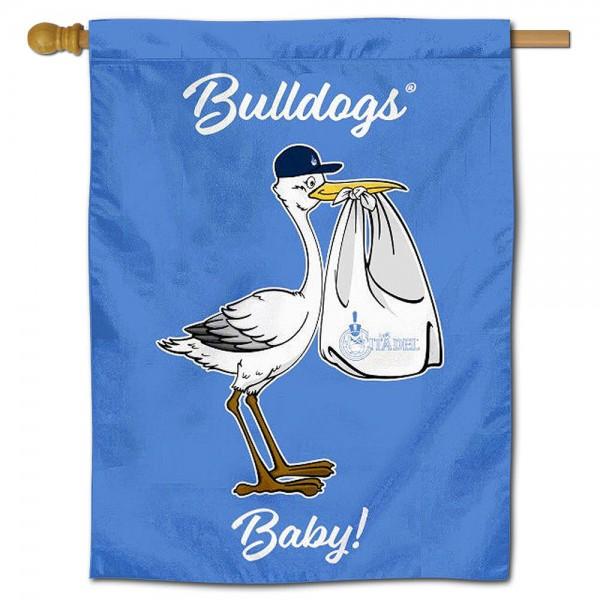 Citadel Bulldogs New Baby Banner