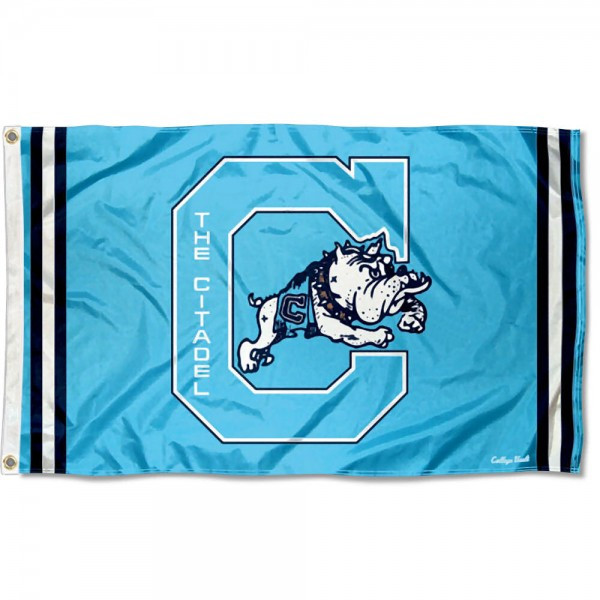 Citadel Bulldogs Retro Vintage 3x5 Feet Banner Flag