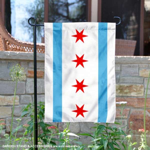 City of Chicago Yard Garden Banner