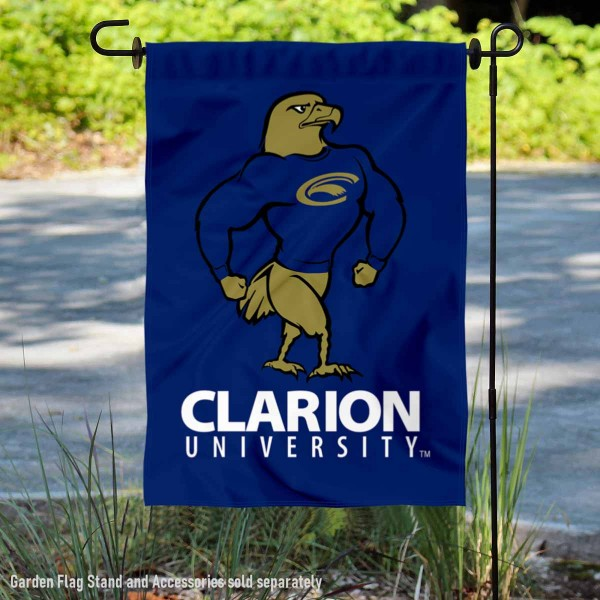 Clarion Golden Eagles Garden Flag