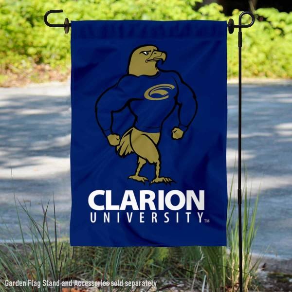 Clarion Golden Eagles Garden Flag