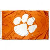 Clemson Flag - Orange