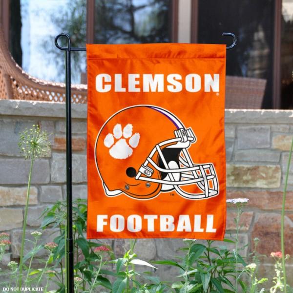 Clemson Football Garden Flag