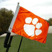 Clemson Golf Cart Flag