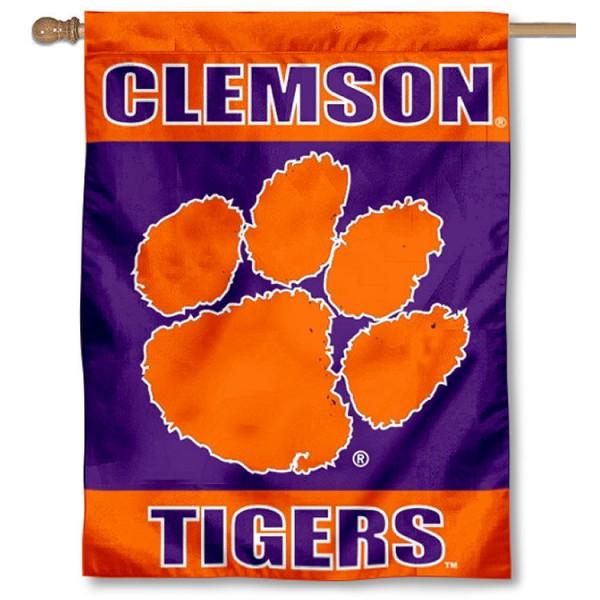 Clemson House Flag