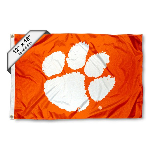 Clemson Mini Flag