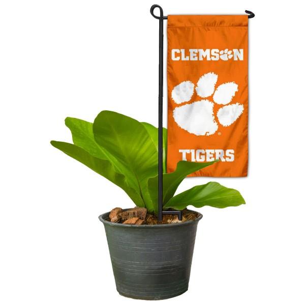 Clemson Mini Garden Flag Marker